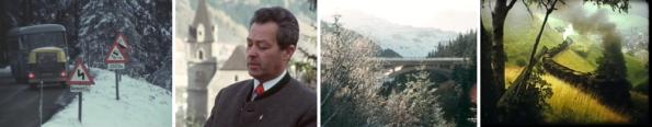 Eisenerz: Präbichl-Straße, ORF 1965 / Eröffnung Nordrampe Präbichl, ORF 1974 / Dampfsymphonie am Erzberg, A 1978