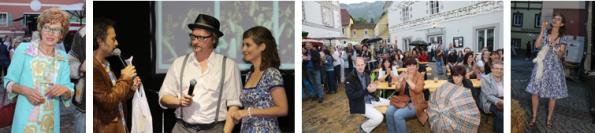 v.l.n.r.: Gerhild Illmaier, Michi Ostrowski mit Franz Lammer und Elisa Rosegger, Stimmung am Platz, Elisa mit Seifenblasen