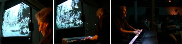 Gerhard Gruber, Stummfilmpianist (Fotos: © eisenerZ*ART)