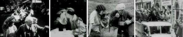 Filmstills aus Sturmjahre – Der Leidensweg Österreichs (Österreichisches Filmmuseum)