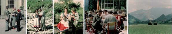 Filmstills aus Ennsfahrt (Österreichisches Filmmuseum)