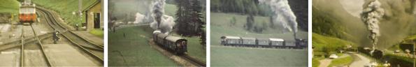Albert Streicher, Eisenbahnfahrt Vordernberg - Eisenerz