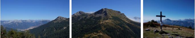 Die imposante Eisenerzer Bergkulisse präsentierte sich von ihrer schönsten Seite....