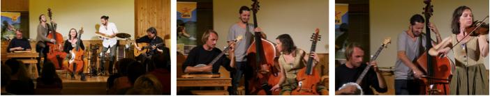 Opas Diandl aus Südtirol präsentierten unplugged und mit viel Humor ihre Interpretationen von alpenländischer Volksmusik