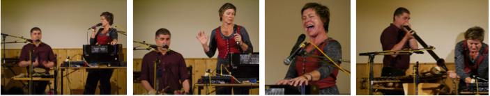 Vocal Chordestra (Franz Schmuck, Annette Giesriegl) boten höchst experimentelle Zugänge zum Jodeln