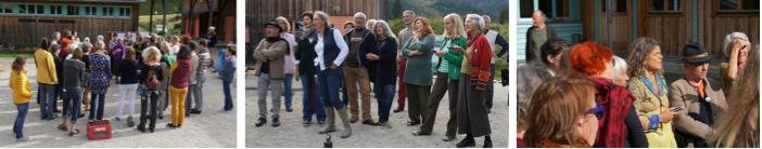 Workshops von Ingrid Hammer, Markus Prieth, Franz Schmuck und Willi Mayer vermittelten individuelle Zugänge zum Jodeln