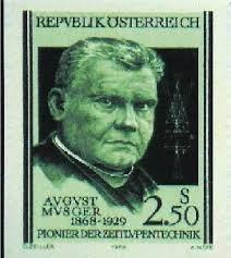 Musger Briefmarke Farbe