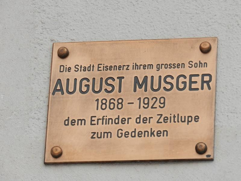 Musger Gedenktafel Eisenerz