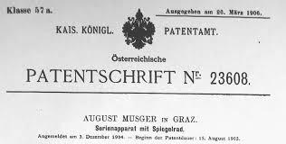 Musger Patentschrift_Serienapparat