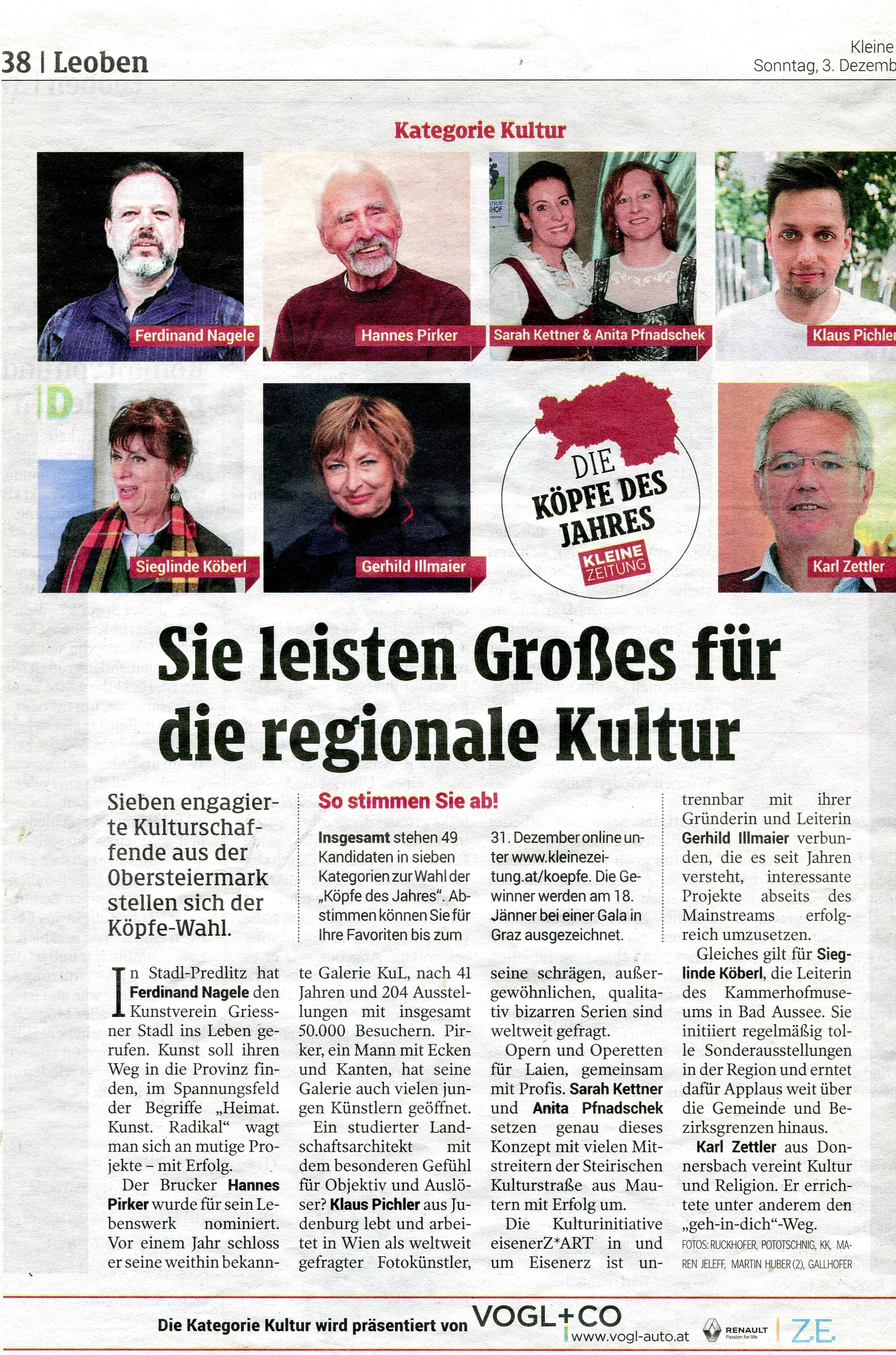 Kleine Zeitung 03.12.2017