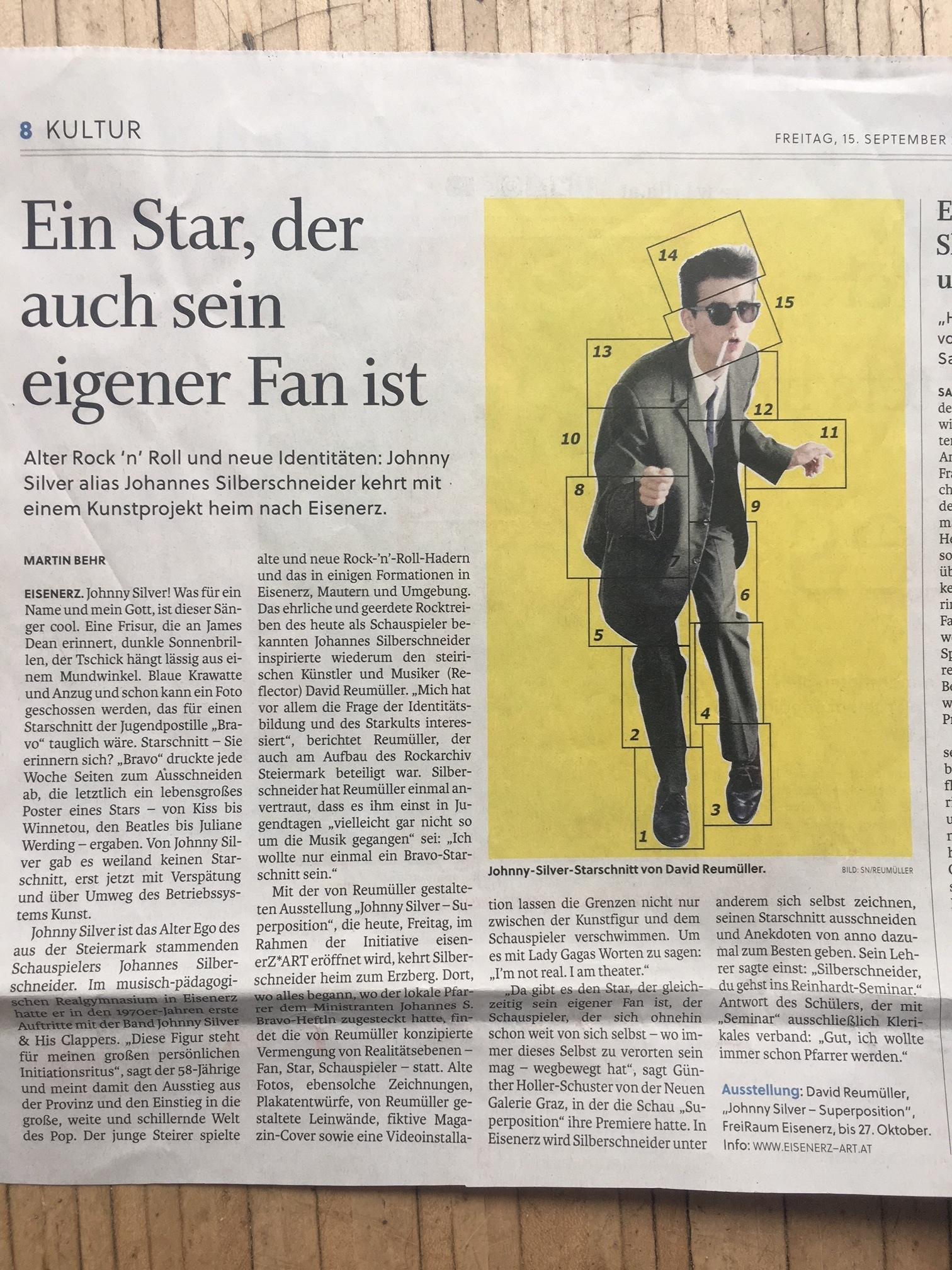 Salzburger Nachrichten 15.09.17